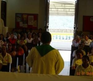 Abertura do mês diocesano do Dízimo é celebrada com Peregrinação ao Santuário Nossa Senhora das Candeias