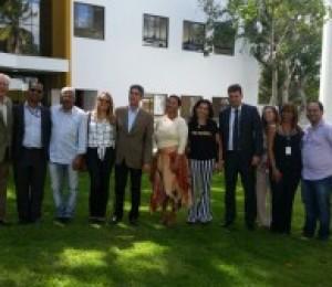 Professores da Pós Graduação da UCSAL visitam Centro Diocesano São João Paulo II