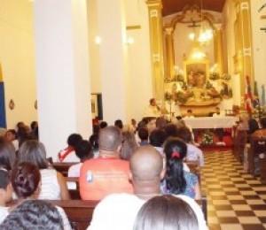 Iniciou em Madre de Deus os festejos em honra a Sagrada Família