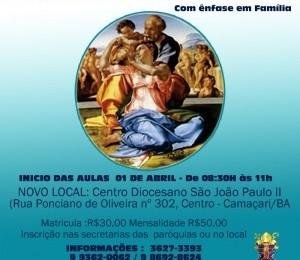 Curso de Extensão em Teologia será oferecido em Camaçari