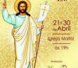 Inicia nesta sexta (21) o solene novenário da Quase Paróquia Cristo Ressuscitado
