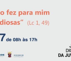JDJ : Acontece neste domingo (30/07) a Jornada Diocesana da Juventude