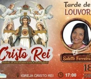 Paróquia Sagrada Família inicia festejos de Cristo Rei 2018