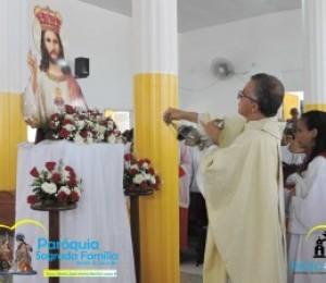 Paróquia Sagrada Família celebra Cristo Rei 2018