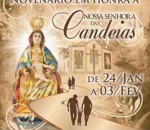 Se aproxima os festejos em louvor a Nossa Senhora das Candeias