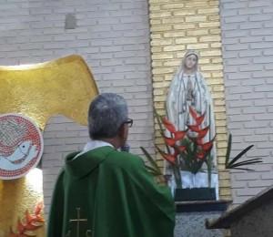 Paróquia Nossa Senhora de Fátima acolhe seu novo pároco