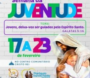 Semana da Juventude inicia neste domingo (17) em Madre de Deus