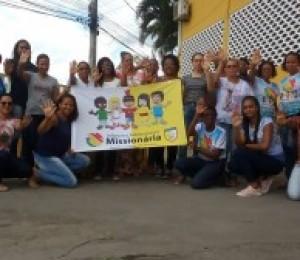 Infância e adolescência missionária promoveu encontro para novos missionários