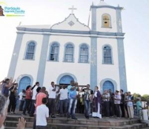 Caminhada penitencial marca o inicio das atividades quaresmais em Madre de Deus