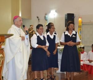 Irmãs negras agostinianas são acolhidas na Paróquia São Francisco de Assis