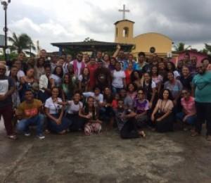 Jovens da Quase Paróquia São Francisco  participam de Retiro Espiritual