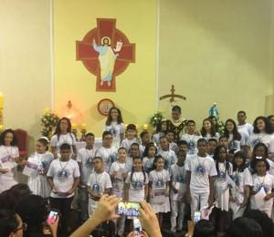 Celebração da primeira Eucaristia marca as festividades de Páscoa na Paróquia do Cristo Ressuscitado