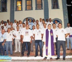 Movimento do terço dos homens celebra vinte e dois anos de presença em Madre de Deus