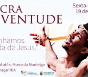 Via Sacra da juventude acontece nesta sexta-feira (19)