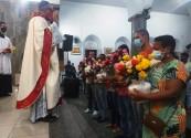 Mês missionário : Paróquia São Sebastião  realiza mês intenso de visitas e evangelização
