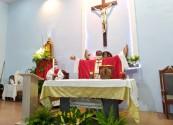 Paróquia São Tomé motiva paroquianos para ser casa de fé, espiritualidade e sal da terra e luz do mundo durante festejos