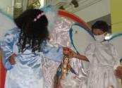 Paróquia Nossa Senhora das Candeias realizou neste sábado (17) o Terço das crianças e coroação de Nossa Senhora