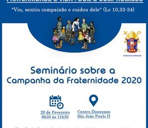 Diocese de Camaçari realiza Seminário sobre a Campanha da Fraternidade