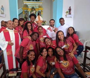 Jovens receberam o sacramento da Crisma em Maracangalha